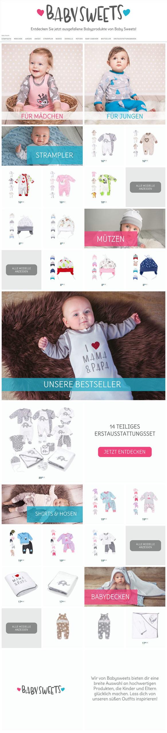 Brandstore Babysweets | Namox®