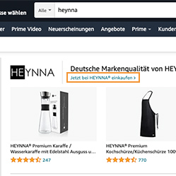 Amazon Brandstore Nutzung - Ads