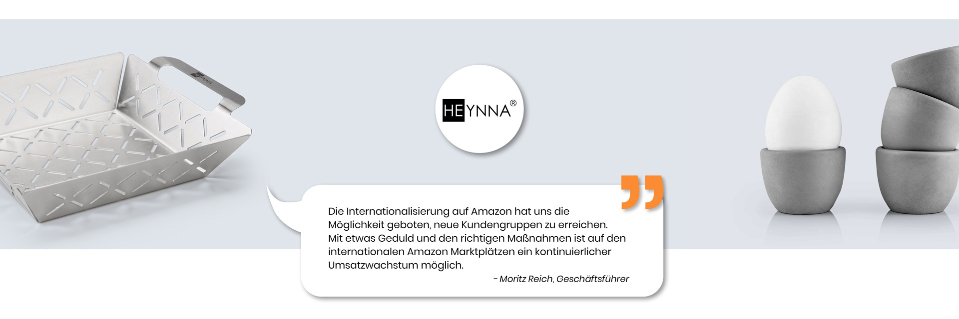 Amazon International - Kundenstimme Heynna