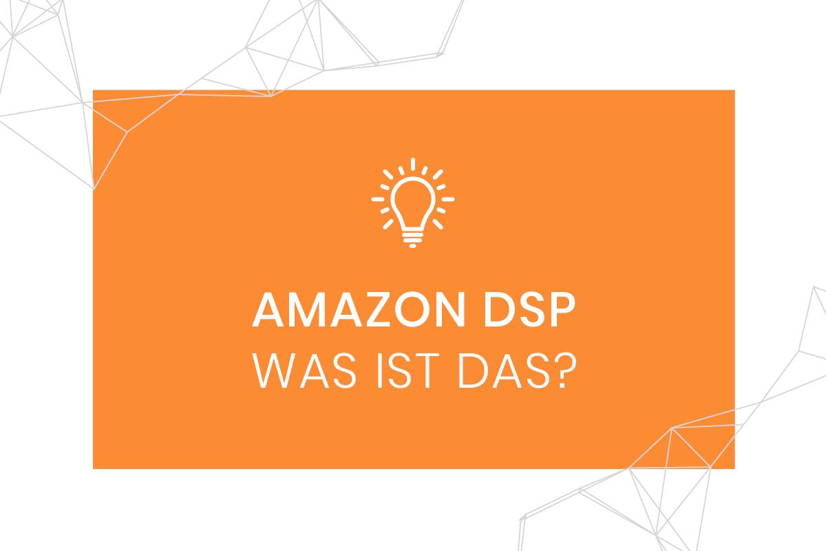 Amazon DSP - Headergrafik